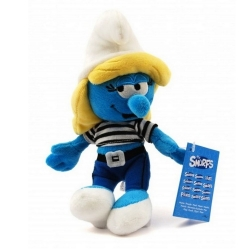 Soft Cuddly Toy Puppy The Smurfs: The Smurfette in sea dress 20cm (961601)