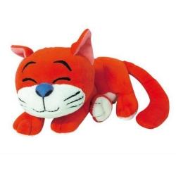 Peluche doudou Puppy Los Pitufos: El Gato Azraël durmiendo 30cm (755678)