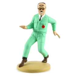 Collectible figurine Tintin Frank Wolf Moulinsart 42221 (2019)