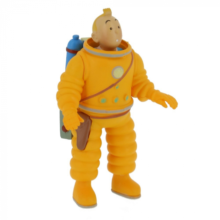 Collection figurine Tintin in astronaut 8cm Moulinsart 42505 (2019)