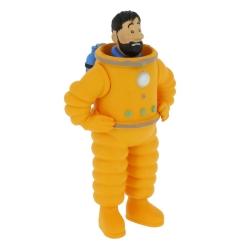 Figura de colección Tintín, Haddock cosmonauta 8cm Moulinsart 42507 (2019)