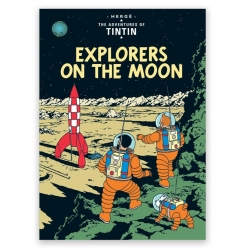 Carte postale album de Tintin: Explorers on the moon 34085 (10x15cm)