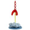 Figura de colección Moulinsart Tintín, el cohete lunar despegando (2019)
