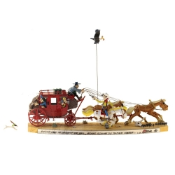 Saynète de collection Pixi La diligence de Lucky Luke 5483 (2019)