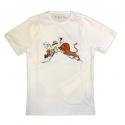T-shirt Moulinsart de Tintin et Milou au Congo face au Lion (2019)