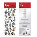 Board of stickers Lucky Luke 31x11cm (FSLL02)