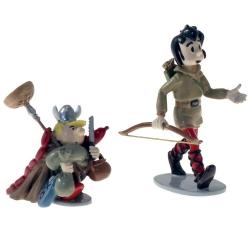 Figurine de collection Pixi Johan et Pirlouit, en route 1702 (2019)