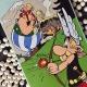 Plaque émaillée collection Emaillerie Belge Astérix et Obélix chez les Helvètes