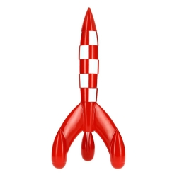 Collectible Resin Moon Rocket Tintin Moulinsart 150cm 46999 (2019)