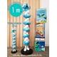 Figurine de collection Plastoy La colonne des Schtroumpfs 100cm (2019)