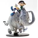 Figurine de collection Pixi Gaston Lagaffe et l'éléphant 6600 (2019)