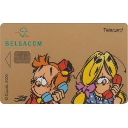 Collectible Phone Card Belgacom Young Spirou (1998)