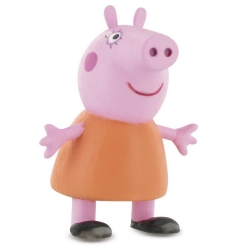 Collectible Figurine Comansi Peppa Pig, Mummy Pig 7cm (2013)