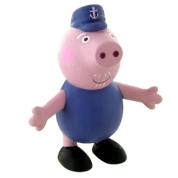 Figurine de collection Comansi Peppa Pig, Grand-Père Pig 7cm (2013)