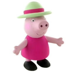 Figurine de collection Comansi Peppa Pig, Grand-Mère Pig 7cm (2013)