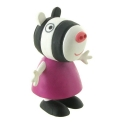 Figura de colección Comansi Peppa Pig, Zebra Zoe 7cm (2013)