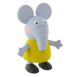 Figura de colección Comansi Peppa Pig, Elefante Emily 7cm (2013)