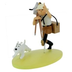 Figurine de collection Tintin au Congo colorisé, cinéaste 42177 (2019)