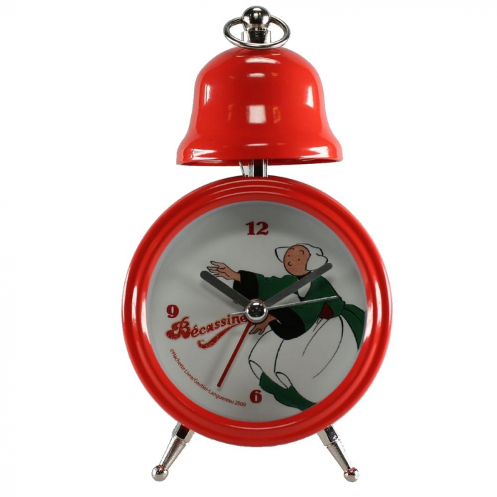 Despertador clásico rojo vintage Tropico Bécassine (2009)