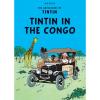 Postal del álbum de Tintín: Tintin in the Congo 34070 (10x15cm)