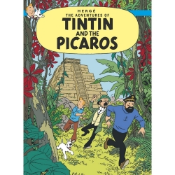Carte postale album de Tintin: Tintin and the Picaros 34091 (10x15cm)