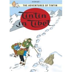 Postcard Tintin Album: Tintin in Tibet 34088 (10x15cm)