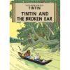 Postal del álbum de Tintín: Tintin and The Broken Ear 34074 (10x15cm)
