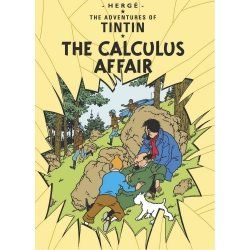 Postcard Tintin Album: The Calculus Affair 34086 (10x15cm)