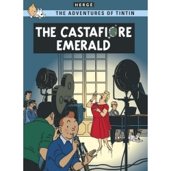 Postcard Tintin Album: The Castafiore Emerald 34089 (10x15cm)