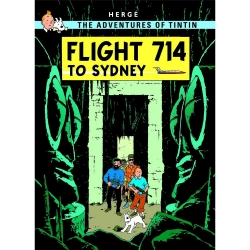Postcard Tintin Album: Flight 714 to Sydney 34090 (10x15cm)