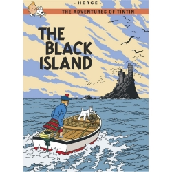 Postcard Tintin Album: The Black Island 34075 (10x15cm)
