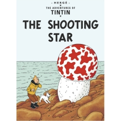 Postcard Tintin Album: The Shooting Star 34078 (10x15cm)