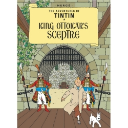 Postal del álbum de Tintín: King Ottokar's Sceptre 34076 (10x15cm)