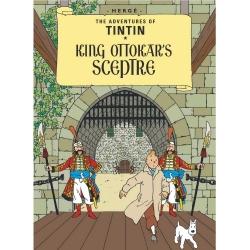 Postcard Tintin Album: King Ottokar's Sceptre 34076 (10x15cm)