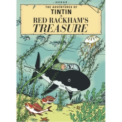 Postcard Tintin Album: Red Rackham's Treasure 34080 (10x15cm)