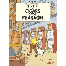 Postcard Tintin Album: Cigars Of The Pharaoh 34072 (10x15cm)