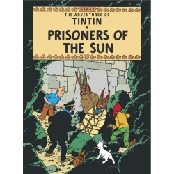 Carte postale album de Tintin: Prisoners Of The Sun 34082 (10x15cm)