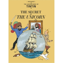 Postcard Tintin Album: The Secret of the Unicorn 34079 (10x15cm)