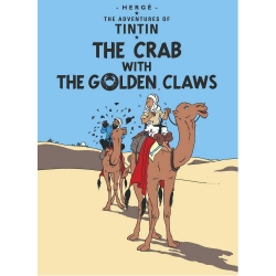 Postcard Tintin Album: The Crab with the Golden Claws 34077 (10x15cm)