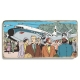 Marble sign Blake and Mortimer Sarcophagi of the Sixth Continent T2 (20x10cm)