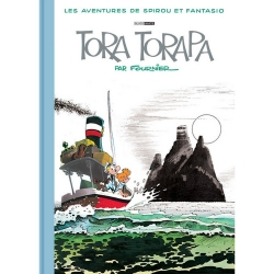 Deluxe album Black & White Spirou and Fantasio: Tora Torapa (2019)