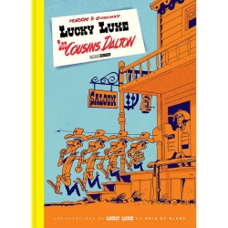 Álbum de lujo Black & White Lucky Luke: Les Cousins Dalton (2019)