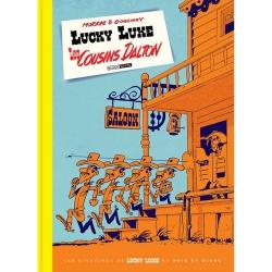 Album de luxe Black & White Lucky Luke: Les Cousins Dalton (2019)
