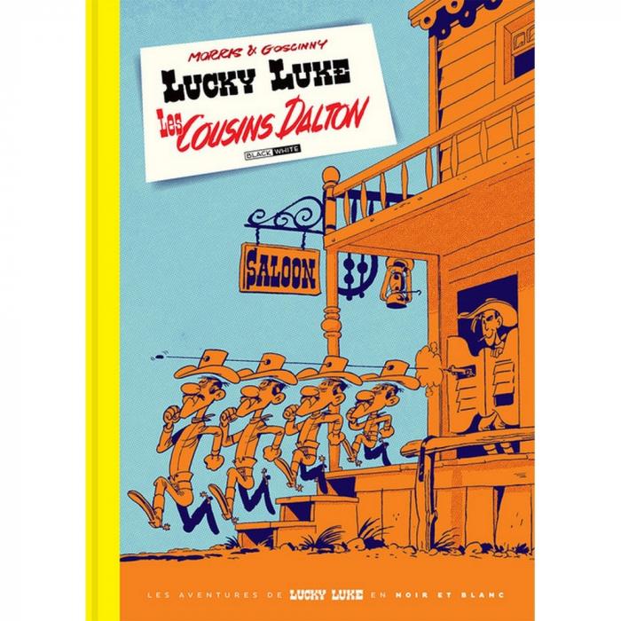 Deluxe album Black & White Lucky Luke: Les Cousins Dalton (2019)