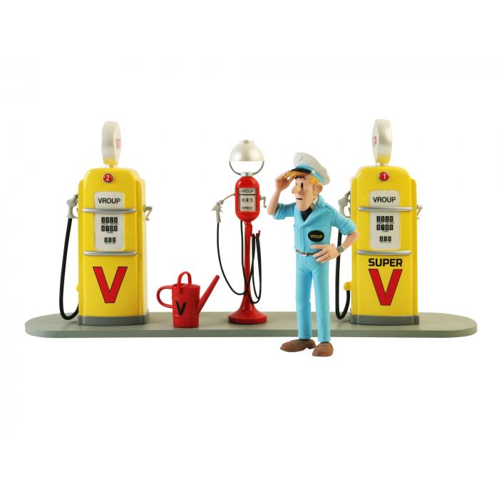 La estación de servicio Vroup Spirou y Fantasio Figures et Vous - GFHS (2015)