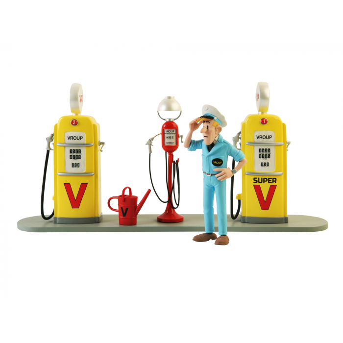 The Station Service Vroup Spirou and Fantasio Figures et Vous - GFHS (2015)