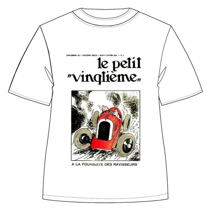 T-shirt 100% coton Tintin Le Petit Vingtième Amilcar 733002 (2019)