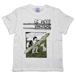 T-shirt 100% coton Tintin Le Petit Vingtième Soviets 729002 (2016)