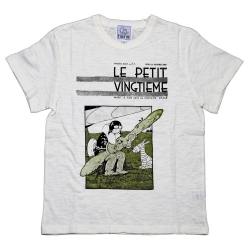 T-shirt 100% cotton Tintin Le Petit Vingtième Soviets 729002 (2016)