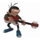 Figurine de collection Attakus Gaston Lagaffe Rock'n'Roll avec guitarre (2019)